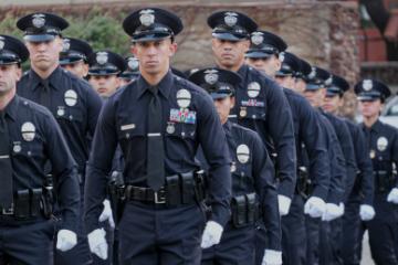LAPD Academy Graduation