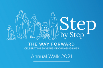 Step by Step Walk Recap Graphic